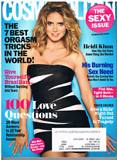 COSMOPOLITAN 2010 May: HEIDI KLUM. More Stars! Beauty, Sex & Lifestyle tips!