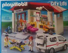 playmobil CityLife Rettungsstation 5012 - Rettung Feuerwehr Ambulanz Notfall RTW