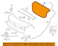 KIA OEM 14-16 Forte Trunk Lid-Weatherstrip Seal 87321A7000