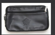 HARLEY DAVIDSON FIREFIGHTER BLACK LEATHER TRAVEL BAG