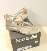 ё650) Luxus Designer Nero Giardini Sommer Schuhe Sandalen Gr. 36 40 NEU 105€
