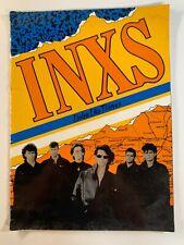 INXS Listen Like Thieves Souvenir book