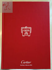NEW UNREAD 2015 CARTIER JEWELRY COLLECTION GOLD DIAMONDS RINGS CATALOG 75 PAGES