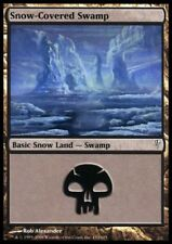MTG 1x SNOW-COVERED SWAMP - Coldsnap *FOIL NM*