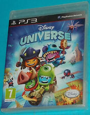 Disney Universe - Sony Playstation 3 PS3 - PAL New Nuovo Sealed