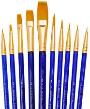 Royal 10 Brushes Value Set. For Artists Watercolour Acrylic Oil Painting SVP1