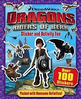DRAGONS _  RIDERS OF BERK _  STICKER AND ACTIVITY FUN _ BRAND NEW _ FREEPOST UK