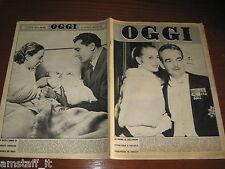 RIVISTA OGGI 1956/2=RANIERI DI MONACO GRACE KELLY=ADOLFO CONSOLINI=