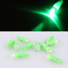 10x T5, 12V, LED long life lamp wedge Green BULBS, A great gift idea!!