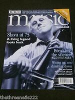 BBC MUSIC - SLAVA AT 75 - APRIL 2002