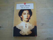 le livre de poche fille du destin - isabel allende
