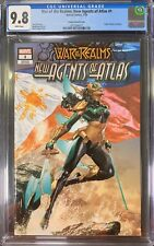 New Agents of Atlas 1 Mico Suayan Variant CGC 9.8 1st Appearance Wave 1st Print