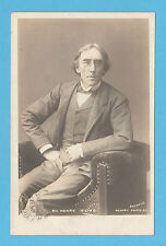 ACTOR  -  ROTARY  POSTCARD  -  ACTOR  -  SIR  HENRY  IRVING  -  1905