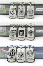 soccer football club Stainless steel Keychain KeyRing league emblem Souvenir