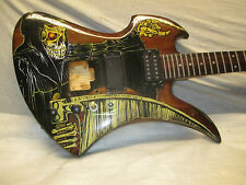80's BC RICH MOCKINGBIRD - CUSTOM ART - VERY COOL