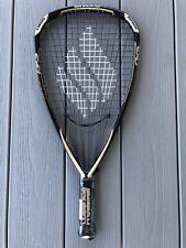 NEW!! RARE Ektelon RG TORON EXO3 LITE Racquetball Racquet Gold Black White 3 5/8
