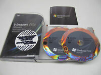Microsoft Windows Vista Ultimate 32 and 64 Bit Full Retail Version