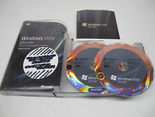 Microsoft Windows Vista Ultimate 32 and 64 Bit Full Retail Version w/ SP1