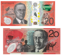 2019 RBA Official Folder $20 Two Generation Pair UNC -In stock
