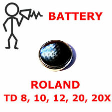 *New*  Roland TD-8 TD-10 TD-12 TD-20 Replacement Backup Battery - Free Shipping