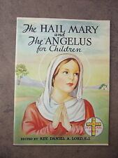 1950's VINTAGE Catholic HAIL MARY & Angelus Childrens Book by Fr. Daniel Lord