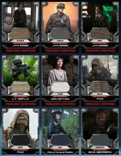 Topps Star Wars Card Trader Digital Rogue One Costume Relics x24 incl Jyn, Vader