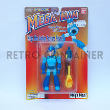 BANDAI CAPCOM MEGA MAN Action Figure - MEGAMAN New Sealed MISB MOC