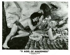 """""""THE NINE (9) AGES OF NAKEDNESS"""" HARRISON MARKS VINTAGE PHOTO CP"""
