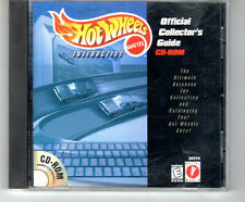 Hot Wheels Interactive Official Collector's Guide CD-ROM database Vintage 1998