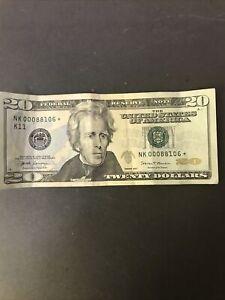 20 dollar bill star note 2017