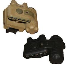 Military Multicam Tactical Head Torch&Helmet Light Red/White/IR LED Flashlight S