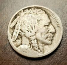 1913 D Type 1 Buffalo Nickel