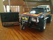 1982 Nikko 1:16 4X4 Toyota Hilux Cibie California Winch 4WD Vintage RC