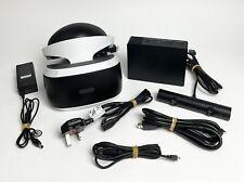 PSVR PS VR V2 Bundle - Headset + Camera + All Cables - PlayStation 4 PS4