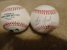 Anthony Alford Signed Official Major League Baseball Blue Jays