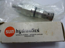 NEW Sun Hydraulics RDFA LCN 9GJ8 1000 PSI Direct Acting Relief Valve