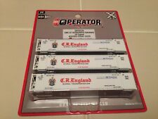 Scaletrains N Scale 53' reefer containers, CR England SXT10228(3-pak)