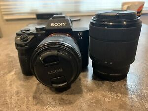 Sony a7ii Two Lens Package! Only Used Once