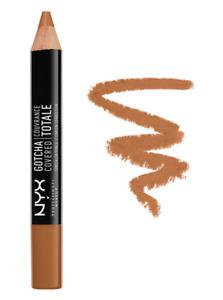 NYX Professional Makeup Gotcha Covered Concealer Pencil GCCP15 MAHOGANY NEW