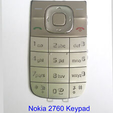 100% Genuine Original Nokia 2760 Keypad Fascia Housing - Sandy gold