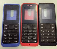 Body Housing cover bezel case keypad Nokia 105 1050 white black red blue