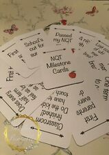 NQT Milestone Photo Prop Cards Newly Qualified Teacher First Year Record 11 Card