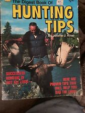 The Digest Book Of Hunting Tips By Jerome J. Knap 1979 Softcover Book