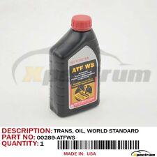 TOYOTA LEXUS SCION ATF STANDARD AUTOMATIC TRANSMISSION FLUID - 1QT