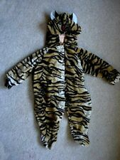 Very Cute Soft Velour Tiger Halloween Costume / Sleeper - 9-12 Mo./Months/Baby