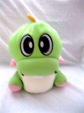 "10"" Snow Foam Micro Beads Green Dinosaur Cushion/Pillow-Brand New!"