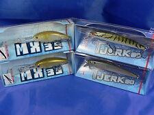 4 Molix T Jerk e Mx35 (vedi descrizione) spinning casting trota, black bass A6
