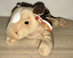 BNWT! TY Beanie Baby Derby The Horse DOB September 16th 1995