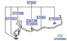 Genuine Hyundai Tucson Power Steering Return Pipe Rack-Cooler Pipe - 575602E091