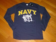USN United States NAVY Long Sleeve MIDSHIPMAN  T-Shirt NEW TAG sz.....   LARGE